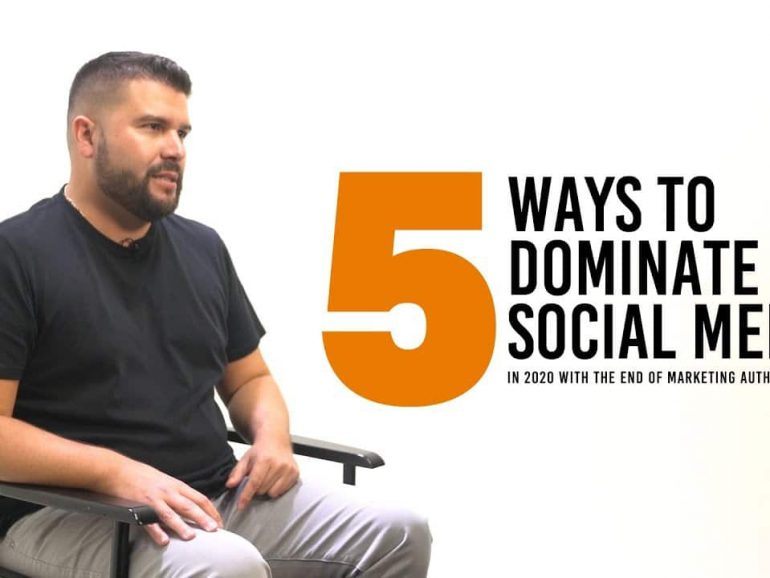 5 Social Media Marketing Tips to Dominate in 2020