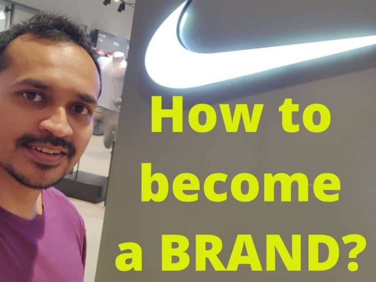 How to become a BRAND? | Vikrant Daily