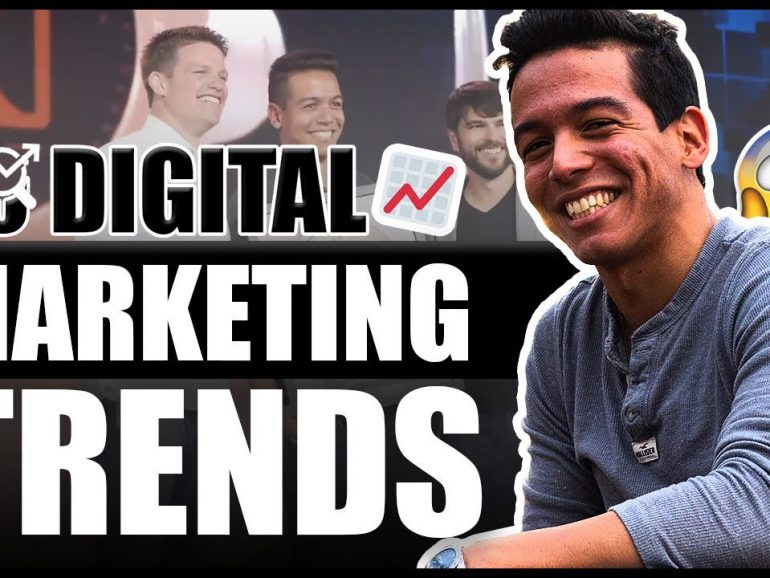 TOP 10 DIGITAL MARKETING TRENDS IN 2019!